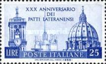 [The 30th Anniversary of the Lateran Pacts, Typ XE]