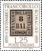 [The 100th Anniversary of the Stamps of Romagna, Typ XW]