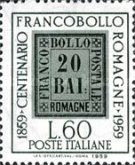 [The 100th Anniversary of the Stamps of Romagna, Typ XX]