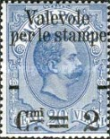 [Parcel Stamps Overprinted New Value, type Y1]