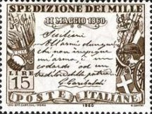 [The 100th Anniversary of the Liberation of Southern Italy, Typ YB]