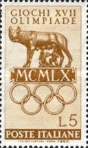 [Olympic Games - Rome, Italy, type YE]