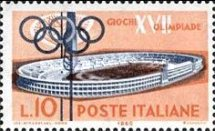 [Olympic Games - Rome, Italy, type YF]