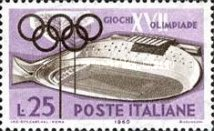 [Olympic Games - Rome, Italy, type YH]