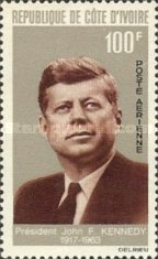 [Airmail - The 1st Anniversary of the Death of John F Kennedy, 1917-1963, Typ ]