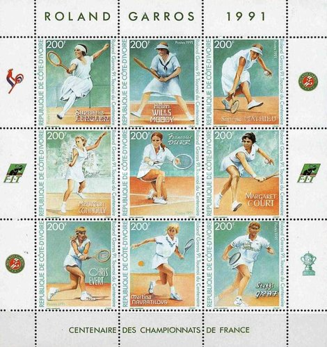 [The 100th Anniversary of French Open Tennis Championships - Tennis Players, Typ ]