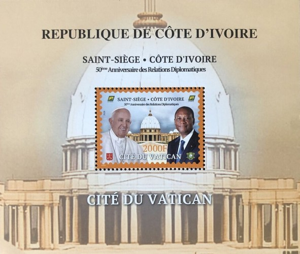 [The 50th Anniversary of Diplomatic Relations with the Vatican City, type ]