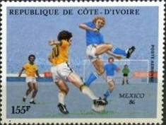 [Airmail - Football World Cup - Mexico 1986, Typ AAJ]