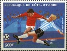 [Airmail - Football World Cup - Mexico 1986, Typ AAL]