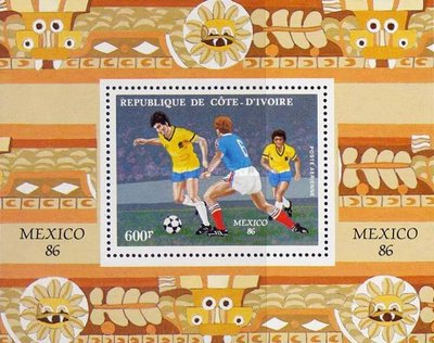 [Airmail - Football World Cup - Mexico 1986, Typ AAM]