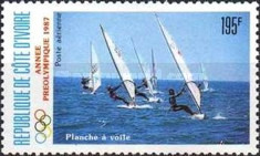 [Airmail - Olympic Games - Seoul, South Korea - Sailing, Typ ABR]