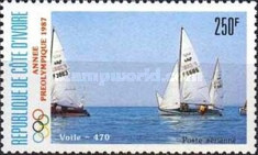 [Airmail - Olympic Games - Seoul, South Korea - Sailing, Typ ABS]