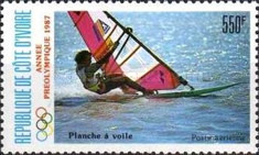 [Airmail - Olympic Games - Seoul, South Korea - Sailing, Typ ABT]