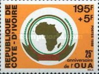 [The 25th Anniversary of Organization of African Unity, Typ ACU]