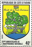 [The 28th Anniversary of Independence - Forestry Year, Typ ACV]