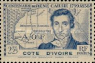 [The 100th Anniversary of the Death of Rene Caillie, 1799-1838, Typ AD2]