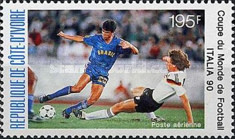[Airmail - Football World Cup - Italy, Typ AEB]