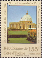 [Consecration of Our Lady of Peace Cathedral, Yamoussoukro, Typ AEG]