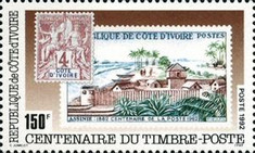 [Day of the Stamp - The 100th Anniversary of First Ivory Coast Stamps, type AGD]