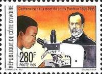 [The 100th Anniversary of the Death of Louis Pasteur, 1822-1895, Typ AIR]