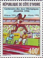 [The 100th Anniversary of Modern Olympic Games and Olympic Games - Atlanta, USA, Typ AJI]