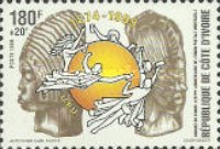 [Day of the Stamp and 125th Anniversary of U.P.U., Typ AKX]