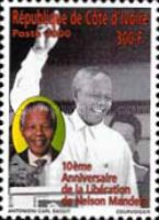 [The 10th Anniversary of Dismissal of Nelson Mandela from a Political Way, Typ AMQ]