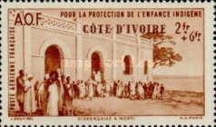 [Airmail - Colonial Child Welfare Fund, Typ AO]