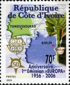 [The 50th Anniversary (2006) of the First EUROPA Stamps, Typ ASP]