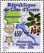 [The 50th Anniversary (2006) of the First EUROPA Stamps, Typ ASV]