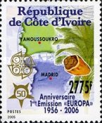 [The 50th Anniversary (2006) of the First EUROPA Stamps, Typ ASX]