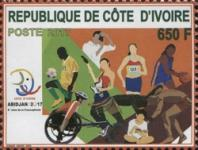 [Sports - Francophonie Games, type AZB]