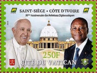[The 50th Anniversary of Diplomatic Relations with the Vatican City, type AZQ]
