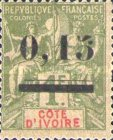 [Issue of 1892 Surcharged, type B2]