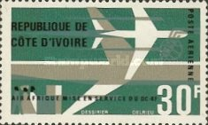 [Airmail - Inauguration of Douglas DC-8F Air Services, Typ ES]
