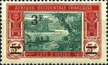 [Not Issued Stamp Surcharged, type I10]