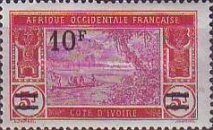 [Not Issued Stamps Surcharged, Typ I6]
