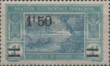 [Not Issued Stamps Surcharged, Typ I9]