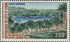 [Airmail - Lake of Jacqueville, type IW]