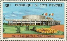 [New Party Headquarters Building, Yamoussokro, type JP]