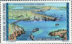 [The 25th Anniversary of Abidjan Port, type KZ]