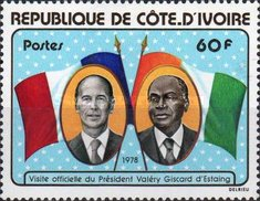 [Visit of President Giscard d'Estaing of France, Typ NC]