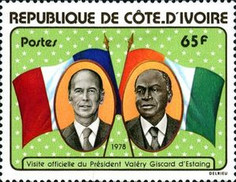 [Visit of President Giscard d'Estaing of France, Typ NC1]