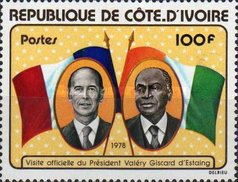 [Visit of President Giscard d'Estaing of France, Typ NC2]