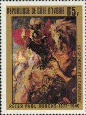 [The 400th Anniversary of the Birth of Peter Paul Rubens, Artist, 1577-1640, type ND]