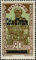 [Stamps of Upper Volta - Previous Issues Overprinted
