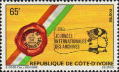 [International Archives Day, type QP]