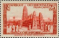 [The Ivory Coast - Mosque of Bobo-Dioulasso, type R1]