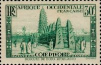 [The Ivory Coast - Mosque of Bobo-Dioulasso, Typ R2]