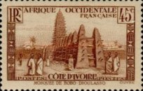 [The Ivory Coast - Mosque of Bobo-Dioulasso, Typ R5]